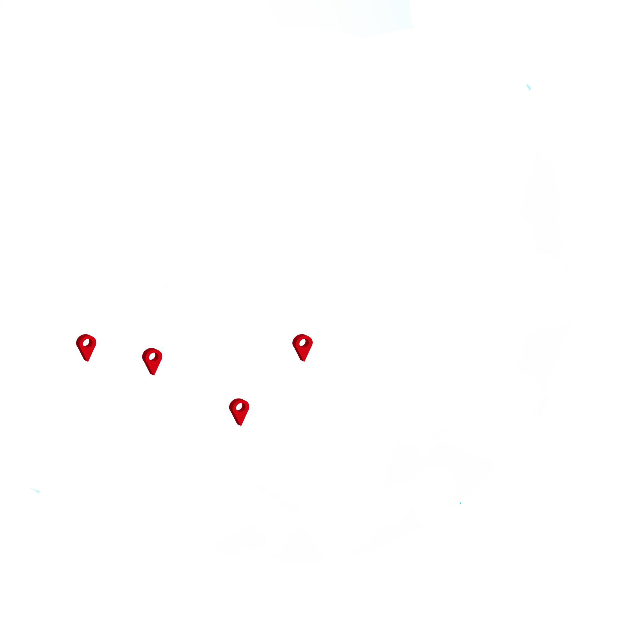 Passive House Systems Locations Map