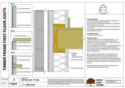 Timber Frame First Floor Joists - Passive House Systems
